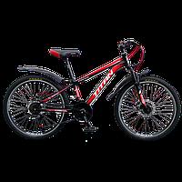 "Велосипед Titan Focus 24"" Red-Black"