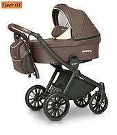 Детская коляска 3 в 1 Verdi Sonic Soft 03 шоколадный