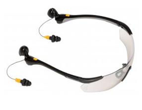 Очки защитные стрелковые с берушами Browning