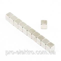 Неодимовий магніт куб 5х5х5 мм