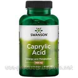 Каприловая кислота 600 мг 60 капсул США