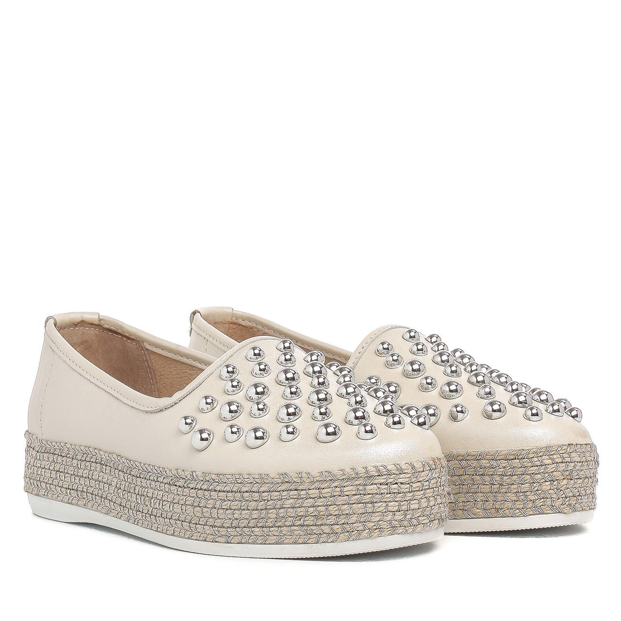 Туфли женские VENSI (светлый оттенок, на платформе, стильные)