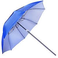 Зонт пляжный Stenson MH-2712 с треногой и колышками, синий