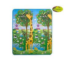 """Дитячий двосторонній розвиваючий килимок limpopo """"жираф Великий і сонячний день"""" 180х200 см, фото 2"""