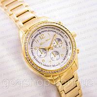 Часы женские в золоте. Alberto Kavalli. Модные часы. Красивые часы. Наручные часы в подарочной коробке.