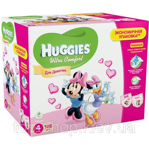 Подгузники Huggies Ultra Comfort 4 Disney Box (для девочек) 126 шт