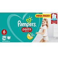 Подгузники-трусики Pampers Pants Extra Large 6 (15+ кг) MEGA PACK, 88 шт. (Памперсы), фото 1