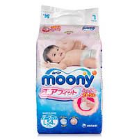 Подгузники Moony для новорожденных L (9-14 кг) RS 54 шт (Муни)