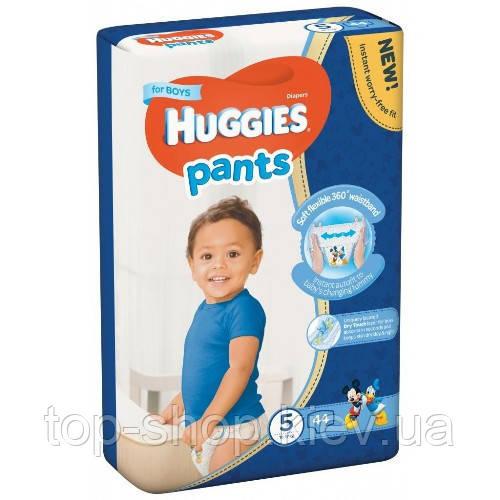 Подгузники-трусики Huggies Pants для мальчиков 5 (12-17 кг), Mega Pack 44 шт