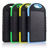 Внешний аккумулятор Power Bank Solar 45000 mah + LED (фонарь+ USB кабель), фото 1