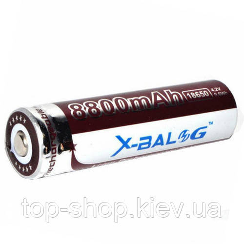 Аккумулятор Li-Ion X-BALOG 18650 8800 mAh 4.2V