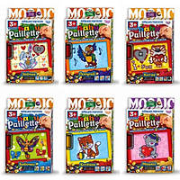 Набор для творчества Мозаика из пайеток Baby paiellete Danko Toys