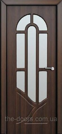 Двери межкомнатные Аркадия со стеклом пленка ПВХ