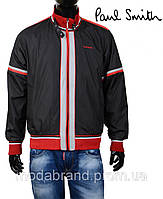 Стильная мужская куртка-ветровка Paul Smith-131 черная