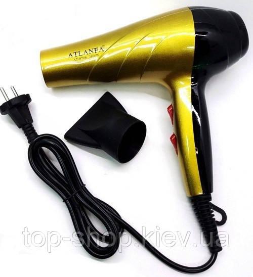 Фен для укладки волос c насадками 2600w Atlanfa AT-6706