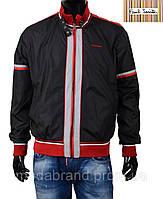 Стильная мужская куртка-ветровка Paul Smith-131 .черная