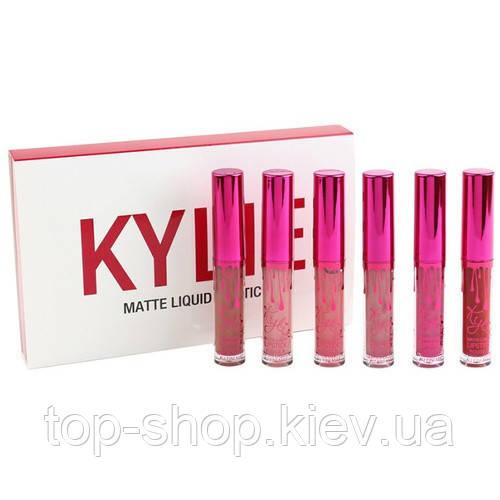 Набор матовых помад Kylie MATTE  LIQUID LIPSTICK (Кайли)