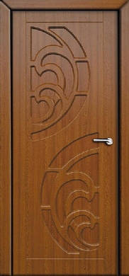 Двери межкомнатные Прибой глухие пленка ПВХ