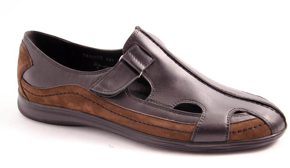 Туфли мужские черные Romani 5680115 р.40-45