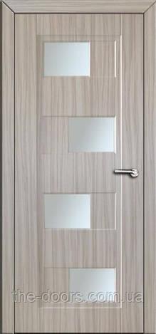 Двери межкомнатные Каскад со стеклом пленка ПВХ