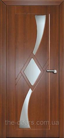 Двери межкомнатные Сириус со стеклом пленка ПВХ