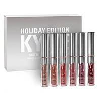 Набор матовых помад Kylie Holiday Edition (Кайли), фото 1