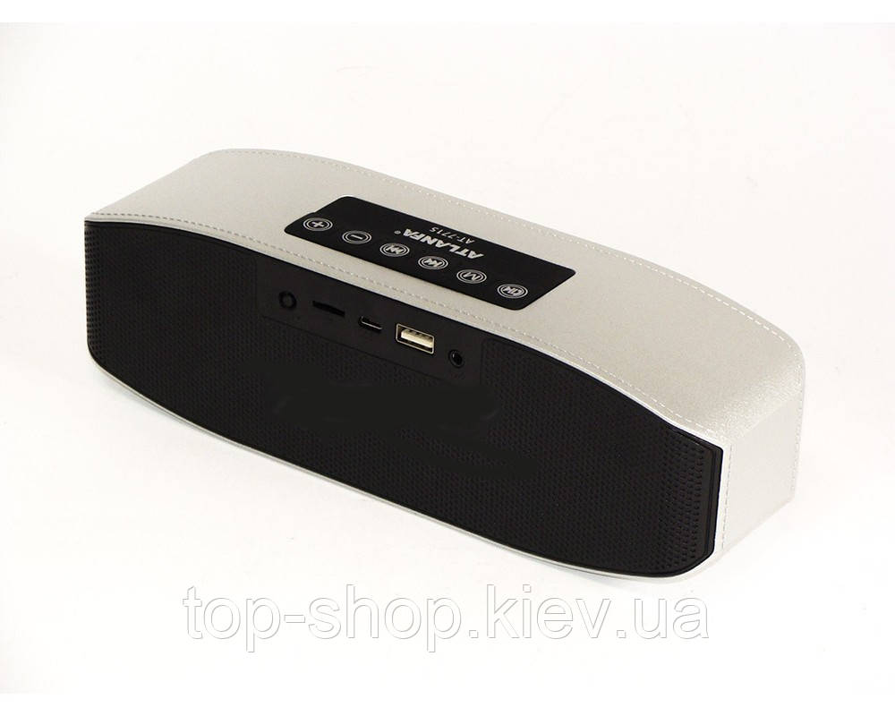 Портативная Bluetooth/MP3/FM/USB колонка Atlanfa AT 7715