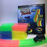 Magic Tracks (Мэджик Трек) 160 деталей , прозрачная трасса, фото 1