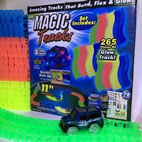 Magic Tracks (Мэджик Трек) 265 деталей, прозрачная трасса, фото 1
