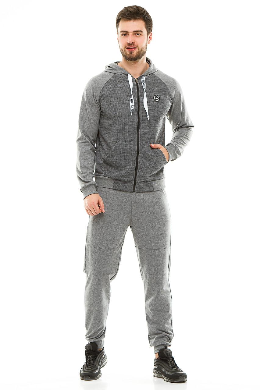 Мужской спортивный костюм 700 темно-серый