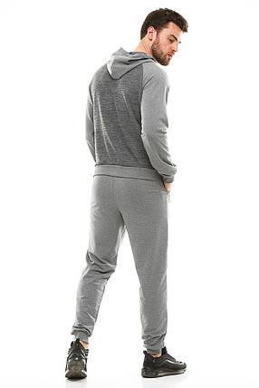 Мужской спортивный костюм 700 темно-серый, фото 2
