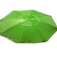 Зонт пляжный антиветер d2.0м серебро Stenson MH-2684 салатовый