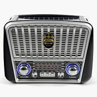 Радиоприемник GOLON RX-455S с солнечной батареей FM/AM/SW, USB microSD(TF), LED фонарик, фото 1