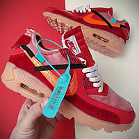 Кроссовки Nike Air Max 90 Off White Red