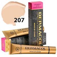 Тональный крем 207 Dermacol (Дермакол) Светлый розово-персиковый, фото 1