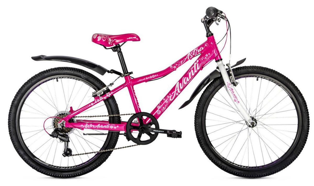 """Велосипед подростковый 24"""" - Avanti Jasmine для девочек розовый"""