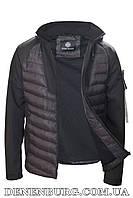 Куртка мужская тонкая STONE ISLAND 7141 чёрная