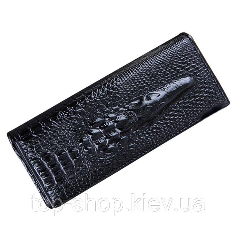 Кошелек c 3d изображением крокодила, crocodil. Портмоне крокодил