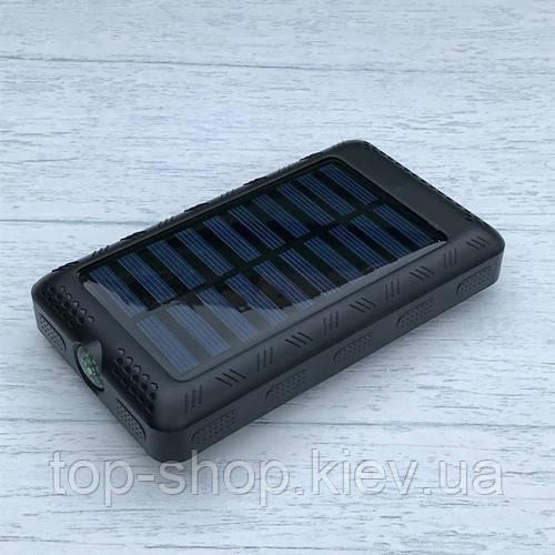 Солнечное зарядное устройство Power Bank 50000 mAh + фонарь + компас