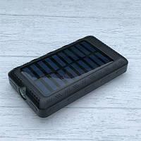 Солнечное зарядное устройство Power Bank 50000 mAh + фонарь + компас, фото 1
