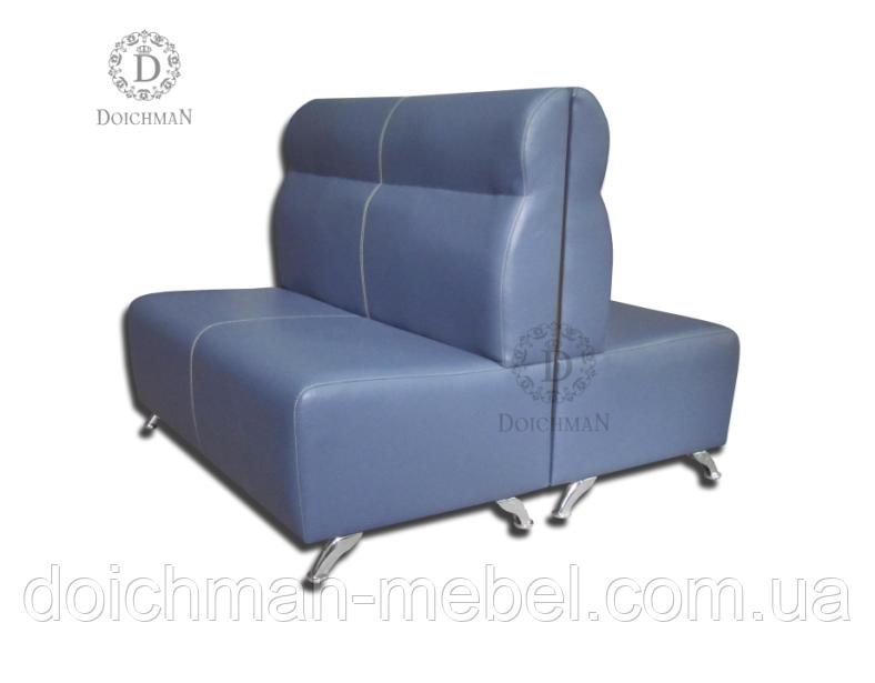 Кожаный диван офисный на заказ