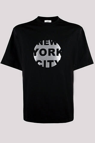 Футболка мужская KIFA ФМХ-019/15 NEW YORK CITY черная