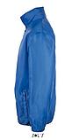 Ветровка SOL'S SHIFT, голубая ветровка унисекс, фото 3