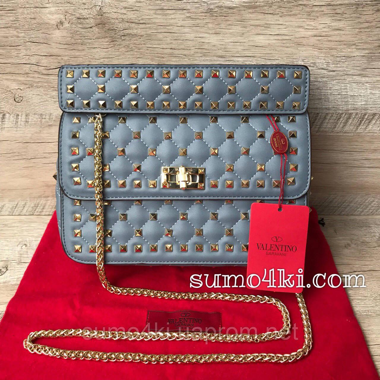 Женская сумка Valentino Garavani Rockstud Spike medium , фото 1