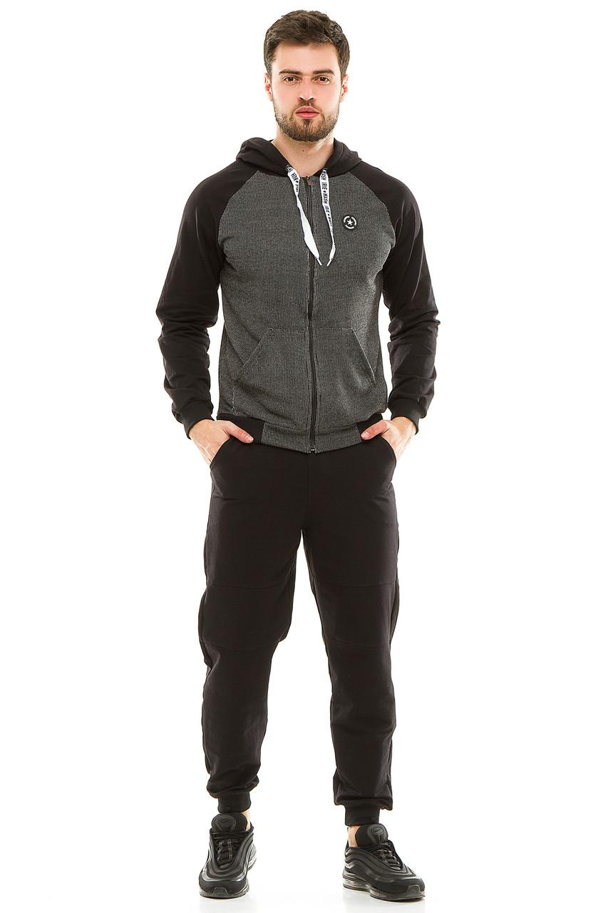 Мужской спортивный костюм 700 черный