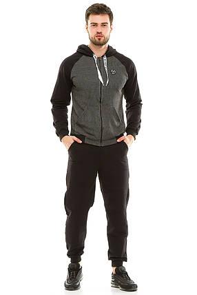Мужской спортивный костюм 700 черный, фото 2