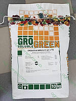 ГроГрин фрукт NPK 8-17-41 10 кг.