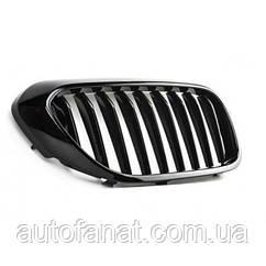 Оригінальна чорна решітка радіатора ліва M Performance BMW 5 (G30) (51712430993)