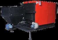 Стальной твердотопливный котел с автоподачей топлива Roda RK3G/S-120 Prom 140 кВт