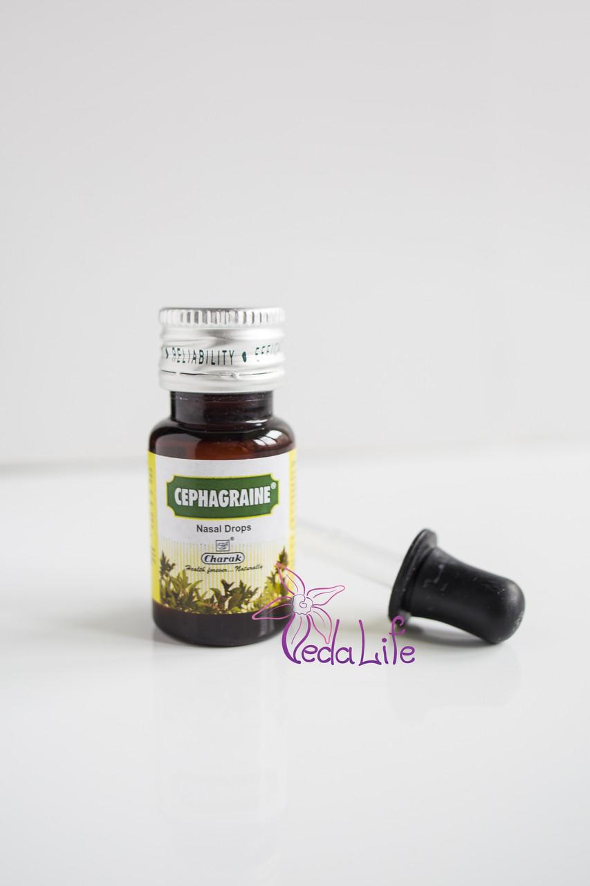 Цефагрейн, Сефагрейн, Cephagraine, капли 15 мл - синуситы, простуда, мигрени